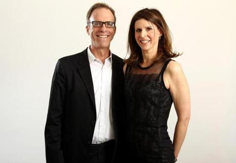 Kirby Dick (left) and Amy Ziering.